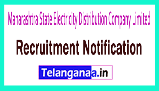 Maharashtra State Electricity Distribution Company Limited MSEDCL Recruitment