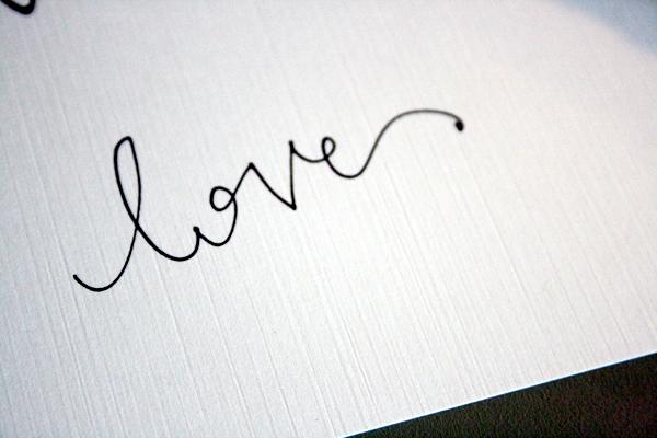 ELLA MODERN: Wedding Wednesday:: DIY Calligraphy