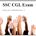 SSC CGL Most Asked Questions & Doubts