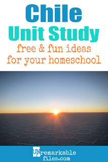 This Chile unit study is packed with activities, crafts, book lists, and recipes for kids of all ages! Make learning about Chile and Easter Island in your homeschool even more fun with these free ideas and resources. #chile #easterisland #homeschool