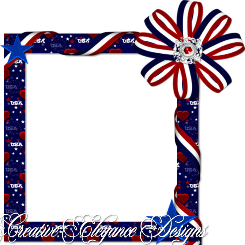 Fourth Of July Frame Images