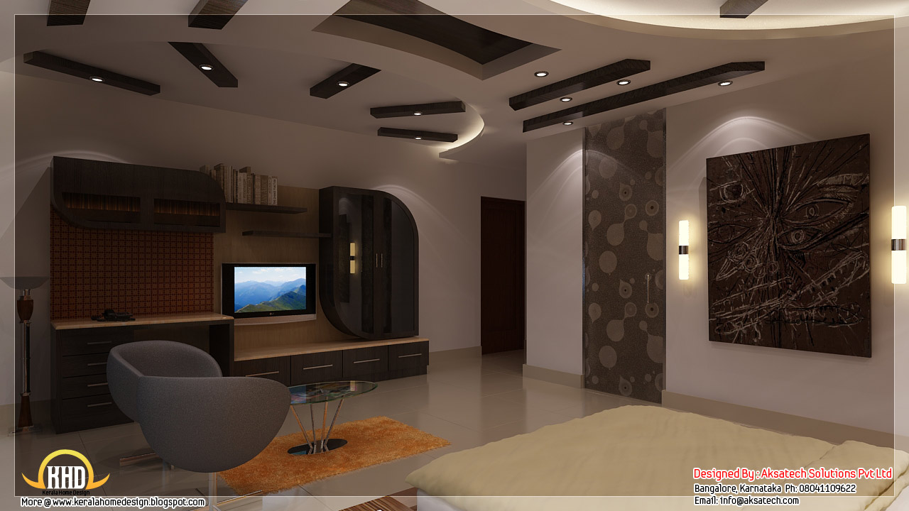 Beautiful contemporary home designs kerala home design - Contemporary home interior design ...