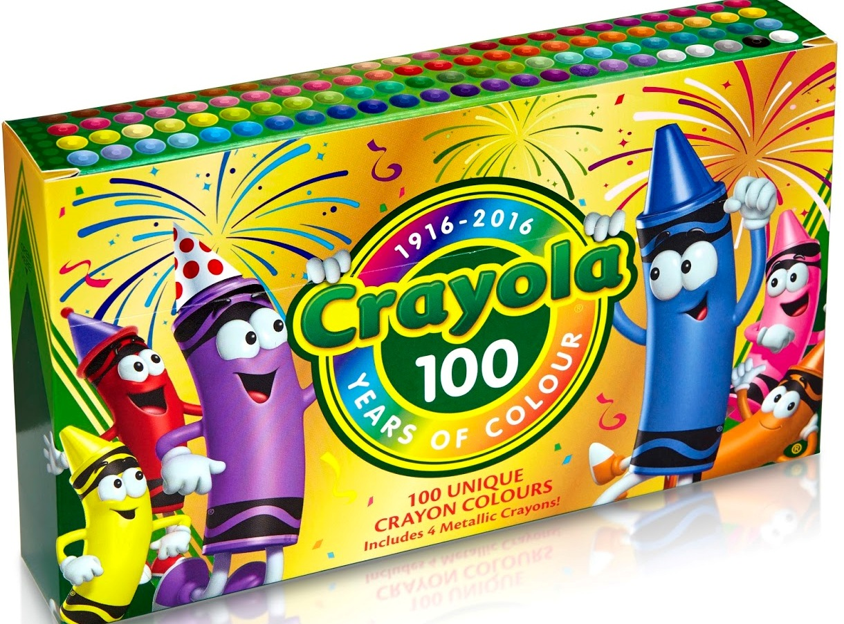The Crayon Blog: 100 Years of Colour in the UK