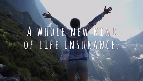 A whole new kind of life insurance