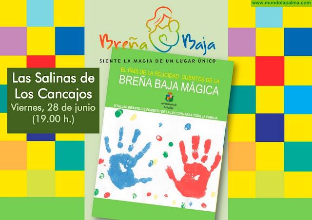 """BREÑA BAJA: edita el segundo libro de cuentos de las familias del """"Taller Infantil de Lectura"""" municipal"""