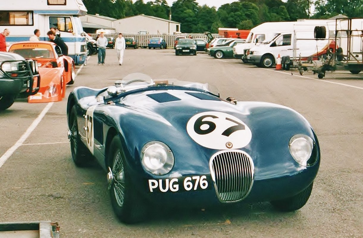 Jaguar jaguar c : Ferraris and Other Things: Jaguar C-type
