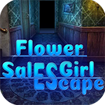 Games4King - Flower Sales Girl Escape