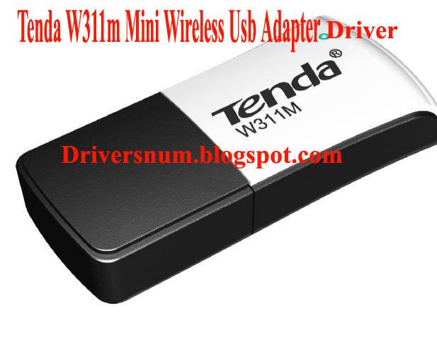 Tenda Usb wifi adapter Driver