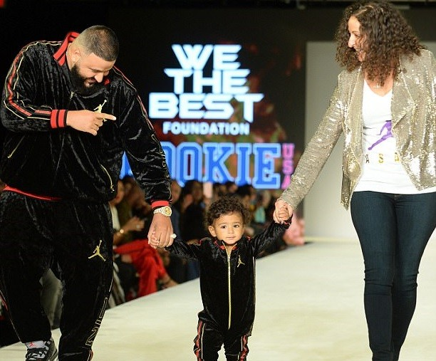 Amazing!! DJ Khaled's 1 Year Old Son Asahd Lauches His Own Clothing Line With Jordan (Photos)
