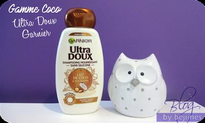 Gamme Coco Ultra Doux de Garnier