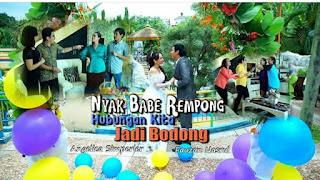 Nama asli dan biodata pemain ftv Nyak Babe Rempong Hubungan Kita Jadi Bodong