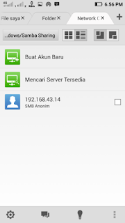 sharing data dengan file expert