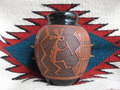 native american pottery, santa fe history