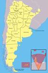 Mapa de las provincias argentinas