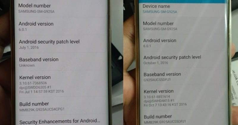 ROM fix imei null, unknown baseband cho Samsung Galaxy G925A