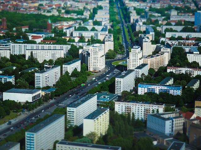 Thành phố Berlin, Cộng hòa Liên bang Đức