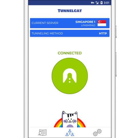 TunnelCat VPN For Free Unlimited Internet Trick Access