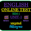 Mihirkumar | Educational | ICT-Technology | Job Related: Online Test STD-7 English Unit-2
