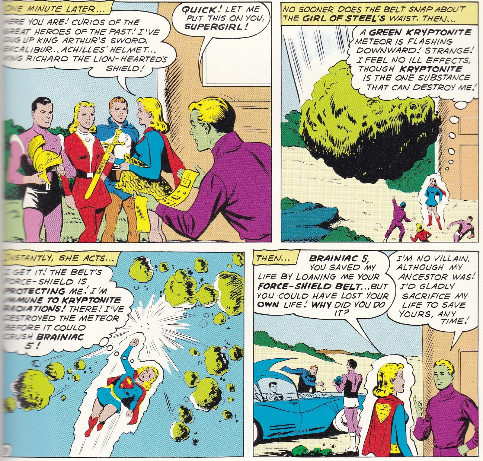 bronze age babies thank you for being a friend action comics 276