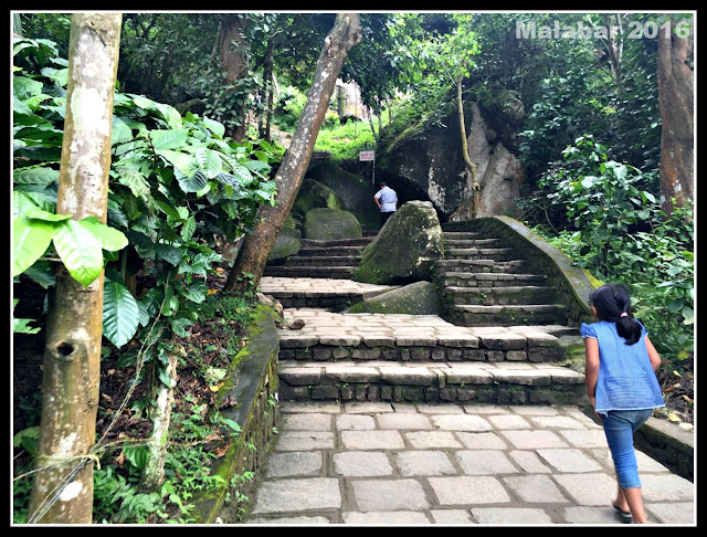 Steps to Edakkal caves