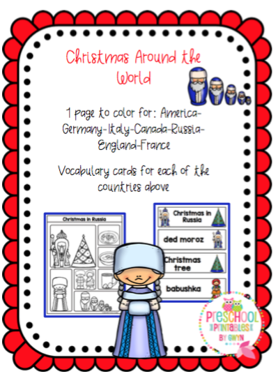 Christmas Around The World Added 32 More Pages