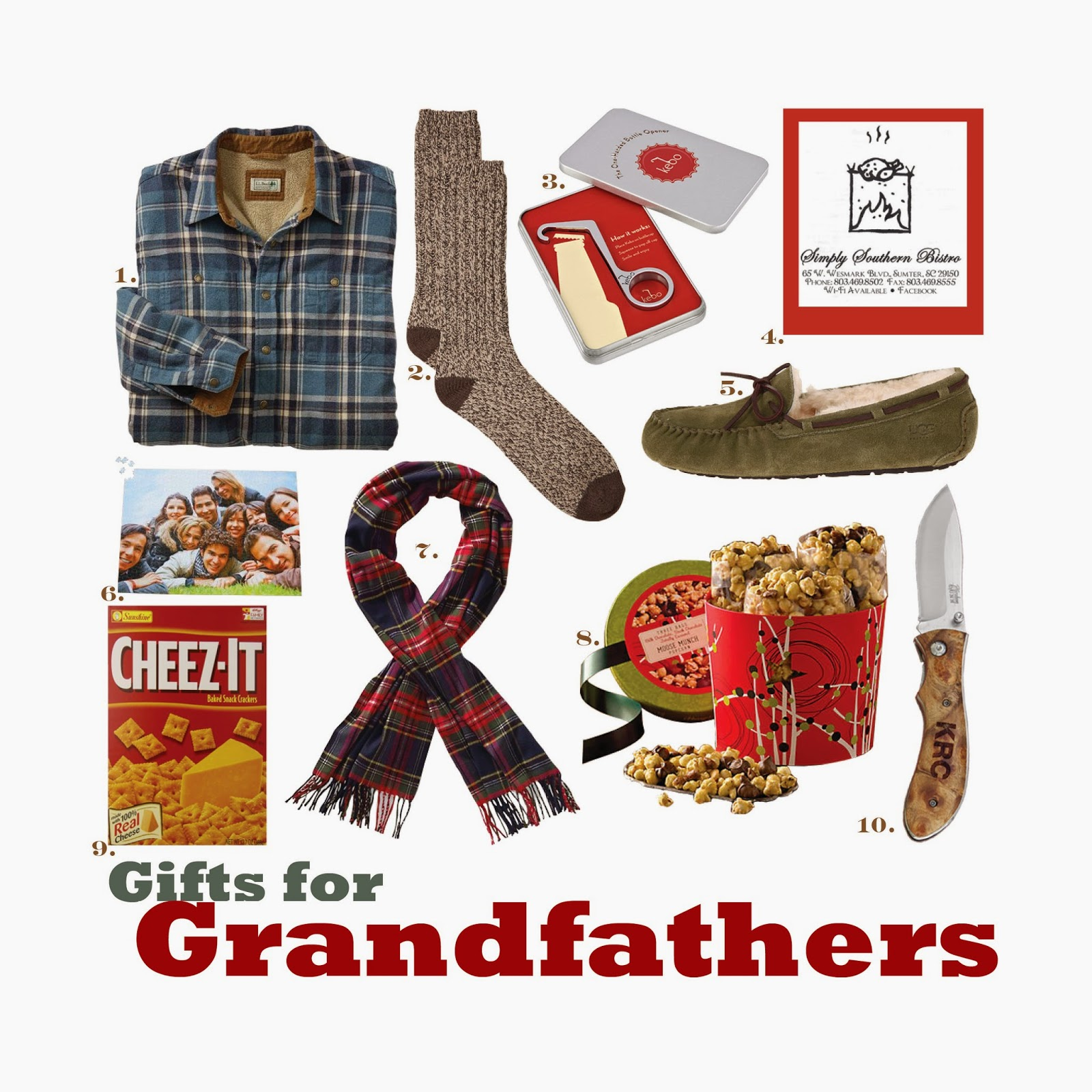 The Spinsterhood Diaries: Gift Guide: For Grandfathers