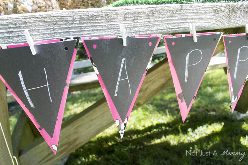 10 Tips For Hosting Your Dog's Barkday Party; party banner