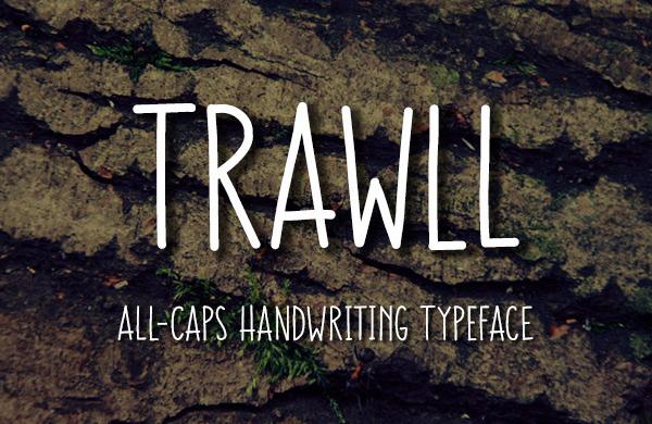Trawll Free Font
