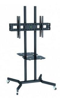 Stativo piedistallo monitor doppio