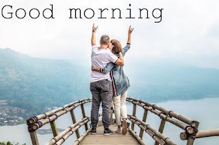 good morning image of romantic love