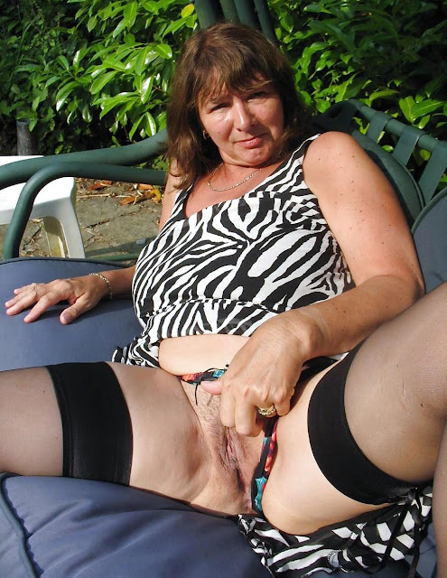 Mature thick women hairy