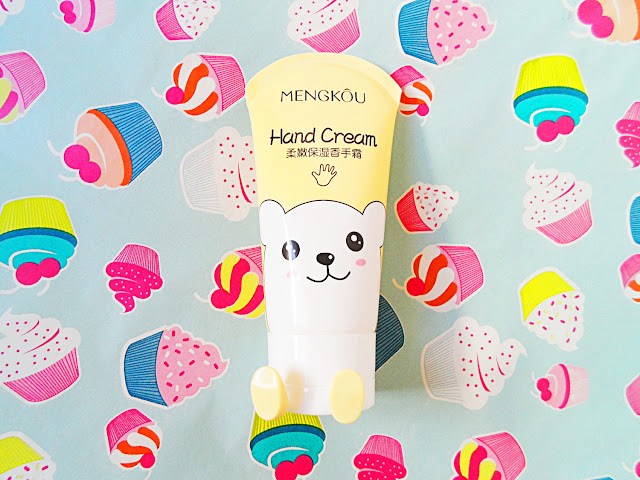Mengkou Cute Hand Cream review liz breygel beauty product blogger