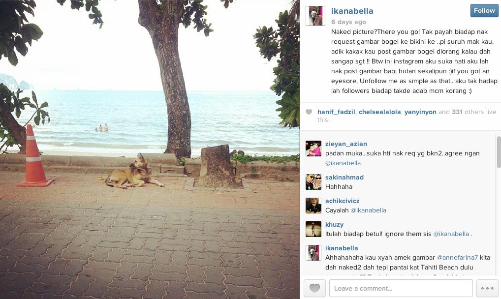 Ika Nabila Mengamuk Di Instagram | Heboh-Lagi