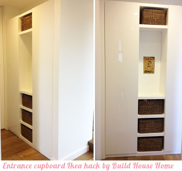 Build House Home Entrance Cupboard With A Place For