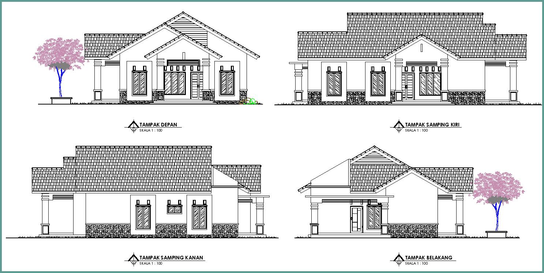 58 Koleksi Foto Desain Rumah Sederhana Atap Segitiga Paling Keren Download Gratis