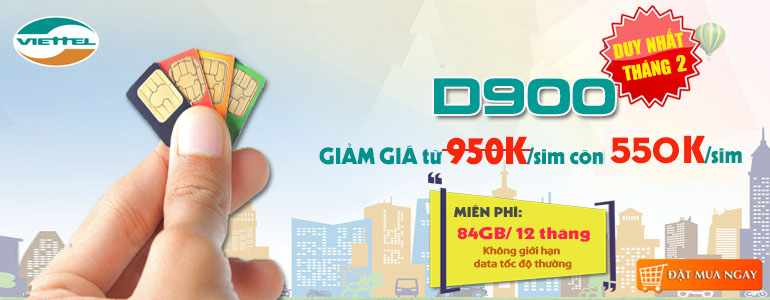 Viettel dcom d900