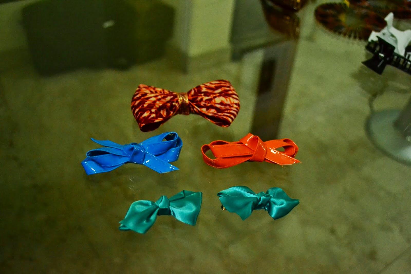 Ankara Hair Bows