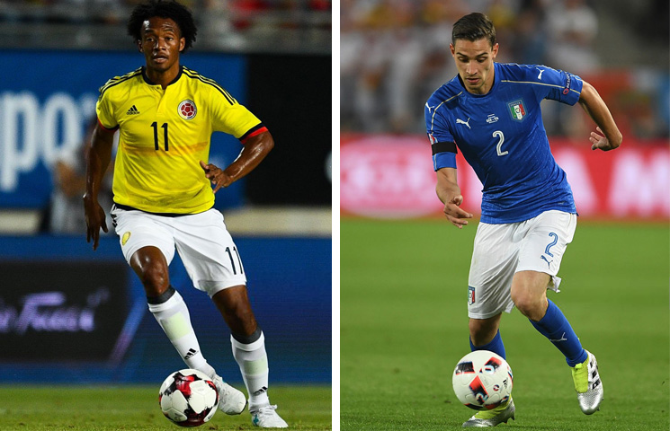 Razmjena Milana i Juventusa na relaciji Cuadrado - De Sciglio?!