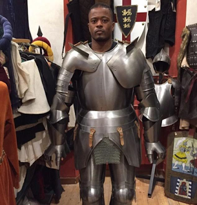 France defender Patrick Evra compares final Euro match to 'Game of Thrones' with this photo