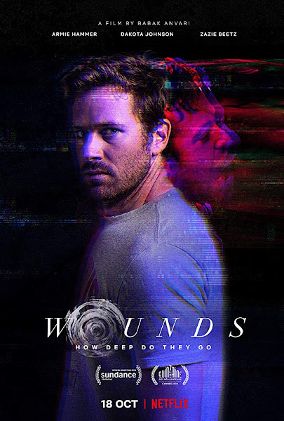 Poster of Wounds (2019) Dual Audio [Hindi-DD5.1] 720p HDRip ESubs Download