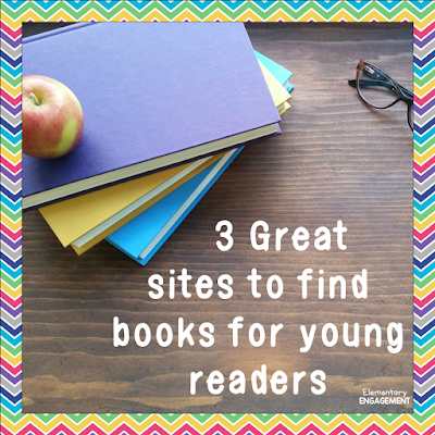 "These sites will help your students find the perfect ""just right"" books."