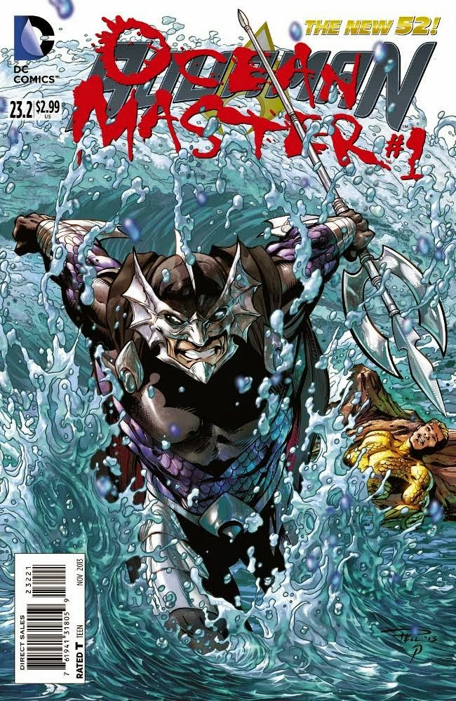 DC Villains Month interlude featuring Ocean Master.