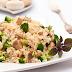 Arroz Integral com Brócolis e Champignon (vegana)