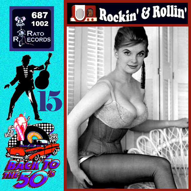 Cd collection Back To The 50's - Rockin' & Rollin' 15 Front