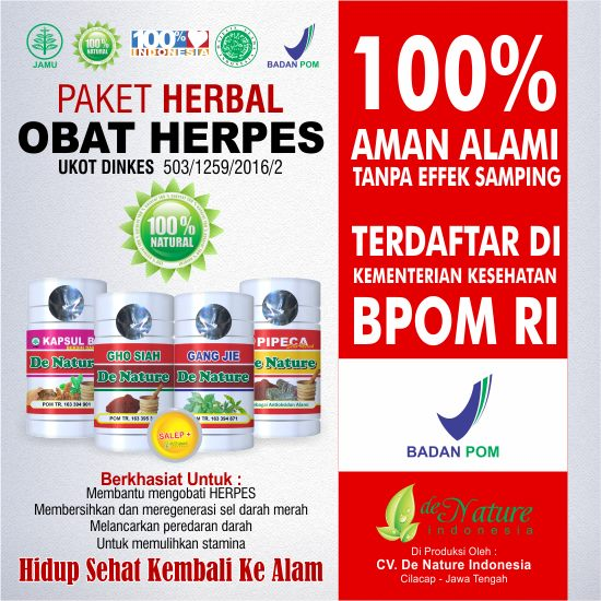 obat herpes bernanah