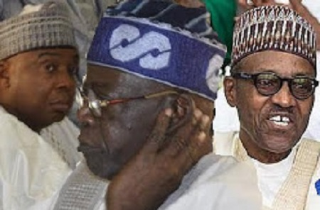 Tinubu saraki and Buhari