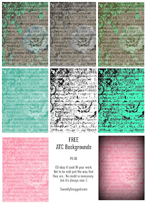 ATC Card Free Printables - Sweetly Scrapped \u0027s Free Printables