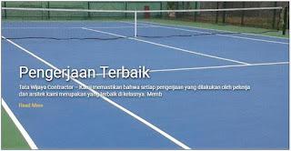 Biaya Pembuatan Lapangan Futsal Badminton Basket Volley Tenis