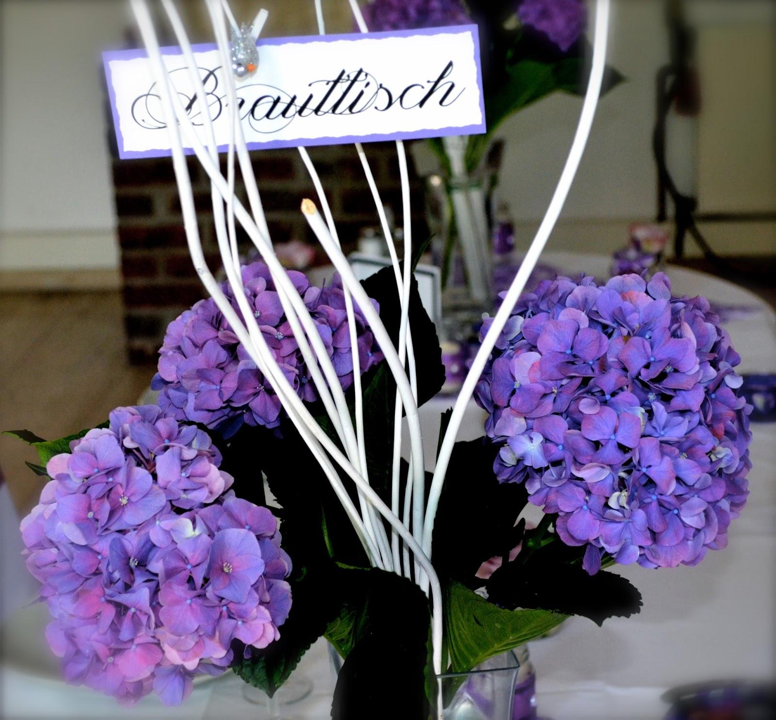 Purple Wedding Auf Schloss Norvenich Deko Ideen Fur Ihre Violette