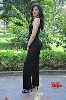 Sakshi Chaudhary in beuatiful black Deep neck Top and trousers at oollo pelliki kukka ~  Exclusive Galleries 012.jpg